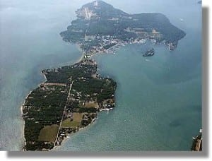 Put-in-Bay Aerial Photo