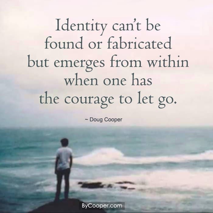Identity can't be found or fabricated