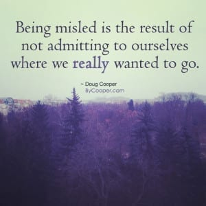 Being Misled