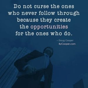 The Ones Who Do Quote