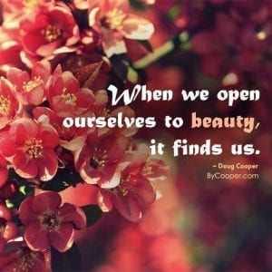 Opening Ourselves To Beauty
