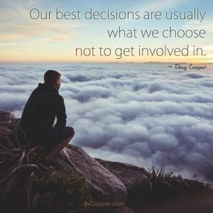 Our Best Decisions