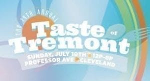 Taste of Tremont Card