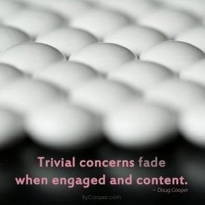 Trivial Concerns Fade