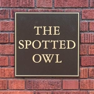 spotted owl bar